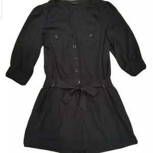 Forever 21 Black Romper Shorts Sz Large Jumpsuit